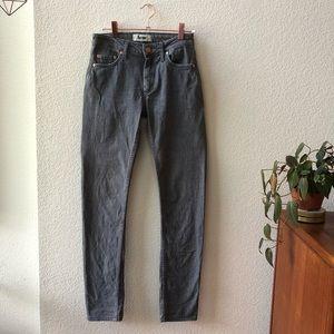 Acne • flex jean in zick/gray